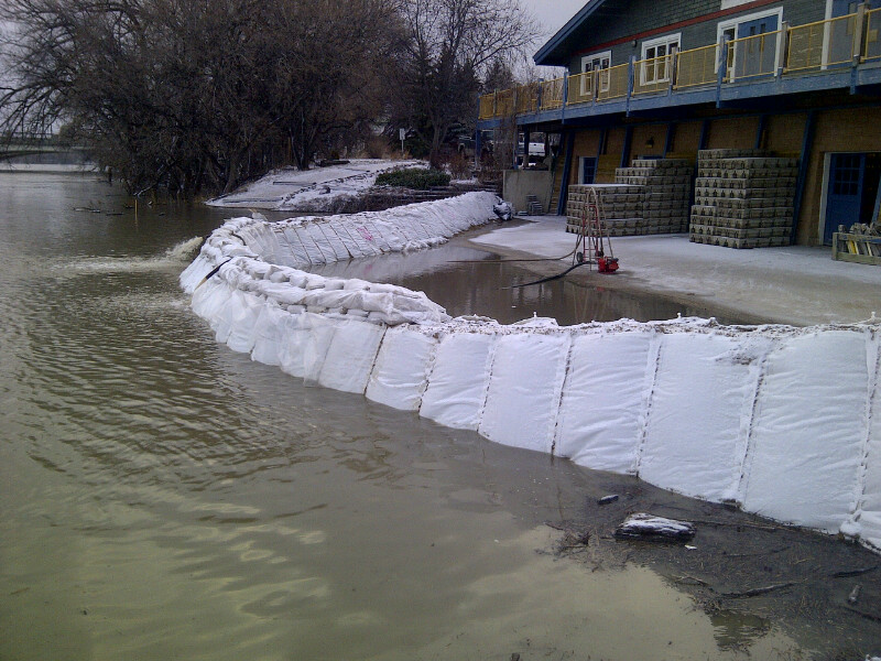 Flood Barrier WRC