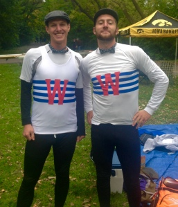 Men's Open 2x  1st place Josh Mintz & Steve Chubaty