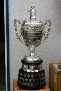 Sir Thomas Lipton Cup awarded each year to the rowing club scoring the greatest number of points at the NWIRA championship regatta